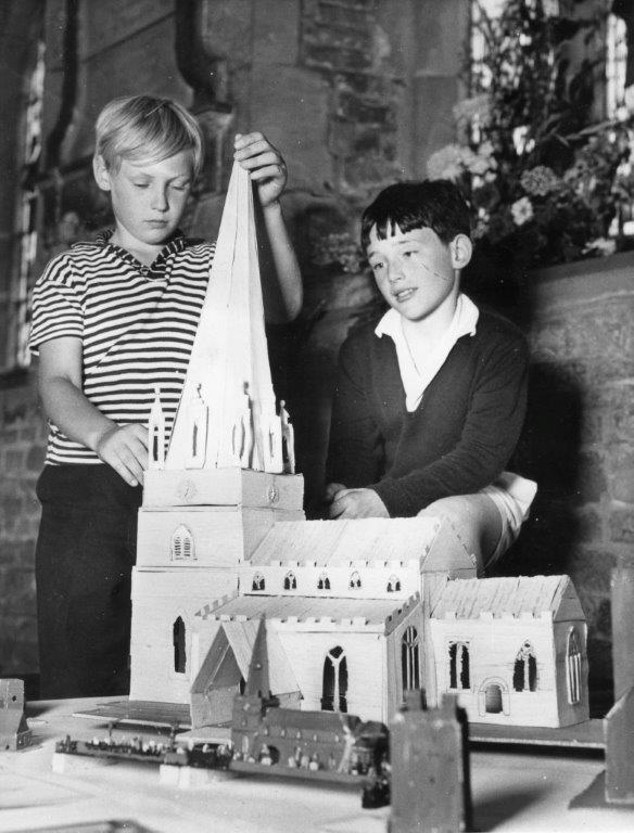 Model of St Mary's Church - Summer Festival 1970