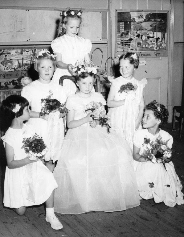 St Mary's School Rose Queen Celebrations c1966