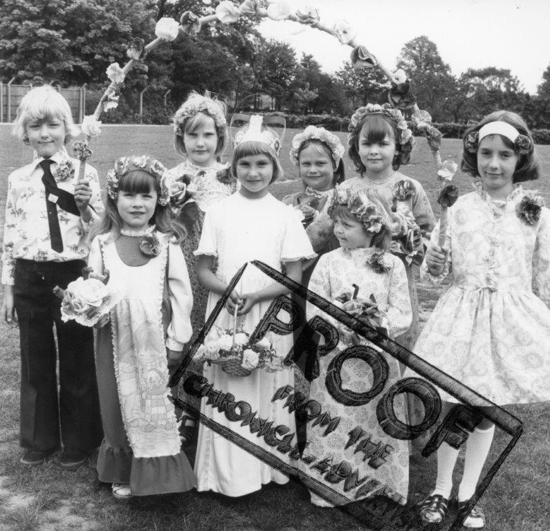 St Mary's School Rose Queen Celebrations c1972