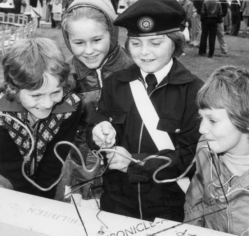 Edwinstowe Church School Garden Party 1970's