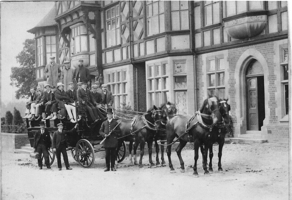 The Dukeries Hotel 1904