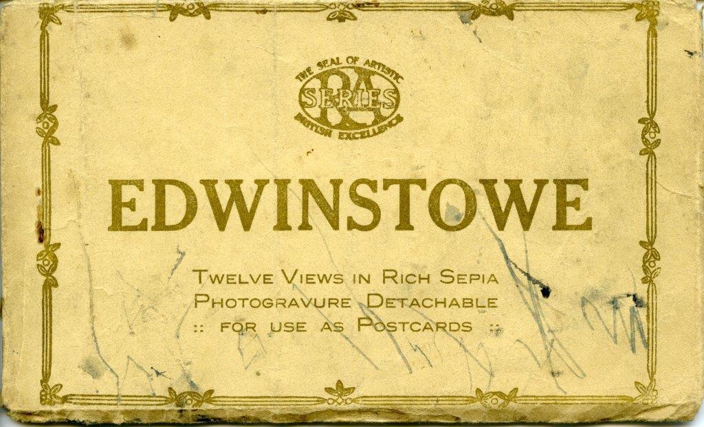 Postcard Book Edwinstowe n.d.